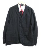 KATO' AAA(カトー・トリプルエー)の古着「リネン3Bジャケット」|ブラック