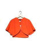 DUAL VIEW(デュアルビュ)の古着「サマージャケット」|オレンジ