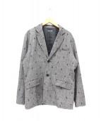 GLAMB(グラム)の古着「Tweed tailored JKT」|グレー