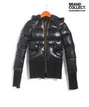 L.G.B(ルグランブルー)の古着「デカフードダウンジャケット」|ブラック