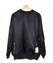 DISCOVERED(ディスカバード)の古着「プルオーバーMA-1ジャケット」|ブラック