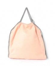 STELLA McCARTNEY(ステラ マッカートニー)の古着「ファラベラチェーントートバッグ」|ピンク
