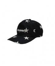 F.C.R.B.(エフシーレアルブリストル)の古着「STAR CAP」|ブラック×ホワイト