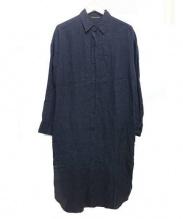 DEUXIEME CLASSE(ドゥーズィエムクラス)の古着「LINENウォッシュワンピース」|ブラック