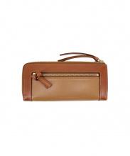 土屋鞄(ツチヤカバン)の古着「L字ファスナー長財布」|ブラウン