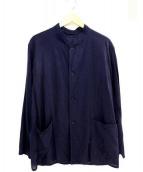 COMOLI(コモリ)の古着「ベタシャンスタンドカラージャケット」 ネイビー