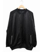 DISCOVERED(ディスカバード)の古着「プルオーバーMA-1」|ブラック