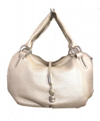 CELINE(セリーヌ)の古着「ハンドバッグ」|パールシルバー