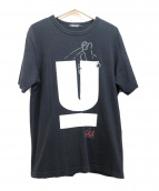 UNDERCOVER(アンダーカバー)の古着「GILA UロゴプリントTシャツ」