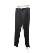 NEIL BARRETT(ニールバレット)の古着「サイドメッシュラインキニーパンツ」|ブラック
