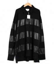 shinya yamaguchi(シンヤヤマグチ)の古着「Rugby Shirt/シャツ」|ブラック
