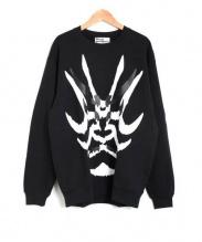 shinya yamaguchi(シンヤヤマグチ)の古着「kabuki Sweat Shirt」|ブラック