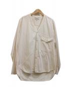 ordinary fits(オーディナリーフィッツ)の古着「ノーカラーシャツ」