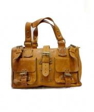 MULBERRY(マルベリー)の古着「レザーハンドバッグ」|ブラウン