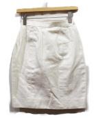 CHANEL(シャネル)の古着「金釦コットンタイトスカート」