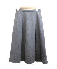 UNTITLED(アンタイトル)の古着「ミディスカート」|グレー