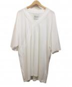 Shinya Yamaguchi(シンヤヤマグチ)の古着「Kimono T-Shirt」|ホワイト