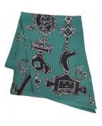 HERMES(エルメス)の古着「マキシツイリースカーフ セリオ・ルデーレ」