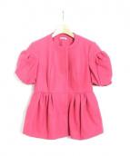 MIU MIU(ミュウミュウ)の古着「ジャケット」|ピンク