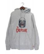 SUPREME(シュプリーム)の古着「Creature Pullover Hoodie」