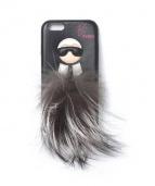 FENDI(フェンディ)の古着「iPhoneケース」|ブラック