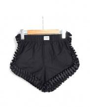 HYEIN SEO(ヘインソ)の古着「フリルショートパンツ」|ブラック