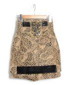 TOGA(トーガ)の古着「大理石パネルショートパンツ」|ベージュ