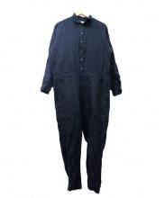 AUGUSTE- PRESENTATION(オーギュストプレゼンテーション)の古着「リネンロンパース」|ネイビー