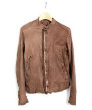sisii(シシ)の古着「レザージャケット」|ブラウン