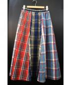 BASQUINE(バスキーヌ)の古着「マキシスカート」|マルチカラー