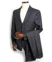 Belvest(ベルベスト)の古着「3Bスーツ」 グレー