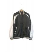 glamb(グラム)の古着「ヴィンテージ加工スカジャン」|ブラック