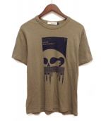 UNDERCOVERISM(アンダーカバーイズム)の古着「プリントTシャツ」|カーキ