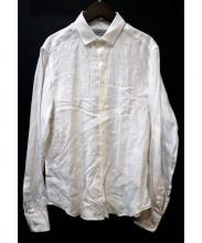 ETRO(エトロ)の古着「リネンシャツ」|ホワイト