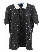 FRED PERRY(フレッドペリー)の古着「ポロシャツ」 ブラック