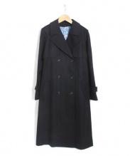 ANAYI(アナイ)の古着「ライナー付コットンシルクトレンチコート」|ブラック