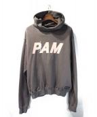PAM(パム)の古着「A/GATES LOGO HOODIE」|グレー