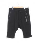 SADDAM TEISSY(サダムテイシー)の古着「ショートパンツ」|ブラック
