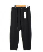 ripvanwinkle(リップヴァンウィンクル)の古着「ジャージパンツ」|ブラック