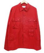 SASSAFRAS(ササフラス)の古着「G.D.U Jacket」|レッド