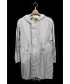 WISLOM(ウィズロム)の古着「モッズコート」 グレー