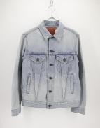 BLUE BLUE(ブルーブルー)の古着「ワッペンデニムジャケット」|ブルー