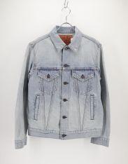 BLUE BLUE(ブルーブルー)の古着「ワッペンデニムジャケット」