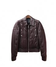 Dior Homme(ディオールオム)の古着「レザージャケット」|ブラウン