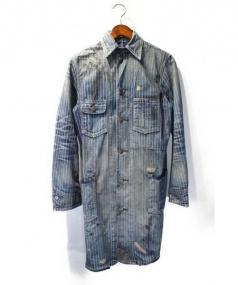 RRL(ダブルアールエル)の古着「Wabash Work Trentch Coat」|インディゴ