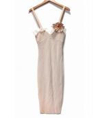 Blumarine(ブルマリン)の古着「キャミソールニットワンピース」