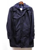 MONCLER(モンクレール)の古着「レイヤードステンカラーコート」
