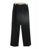 LOEWE(ロエベ)の古着「タックパンツ」|ブラック