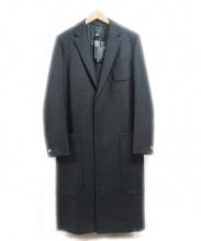 THE RERACS(ザ リラクス)の古着「チェスターコート」|ブラック