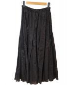 IENA(イエナ)の古着「コットンボイルパネルスカート」